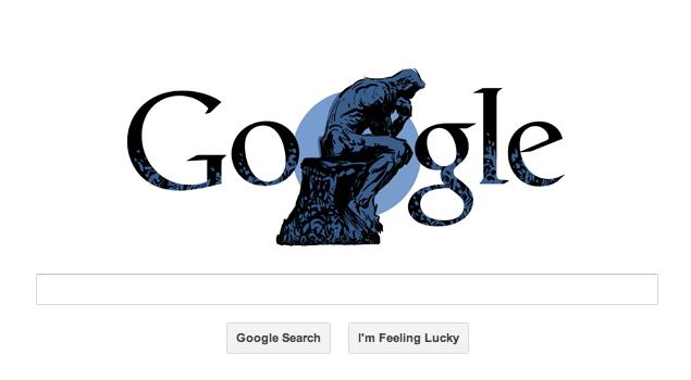 Google's sculpture doodle: Who was Auguste Rodin?