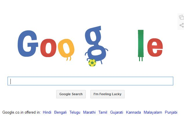 Google Doodles Go International With Fifa World Cup 2014