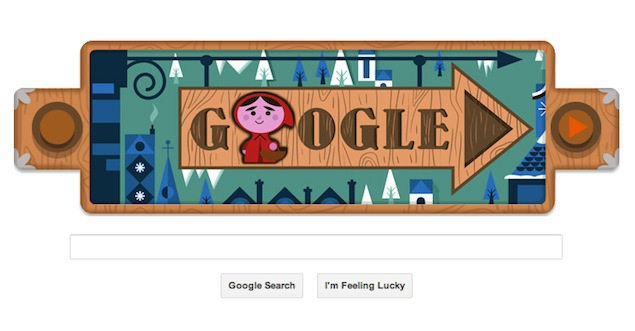 Google doodles 200th anniversary of Grimm's Fairy Tales