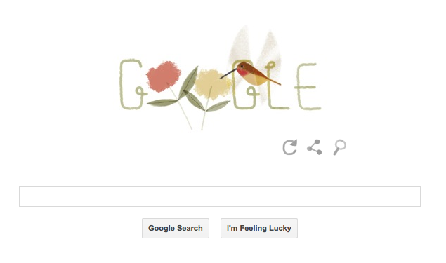 Google's Earth Day 2014 doodle celebrates the varied species