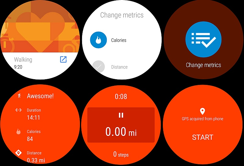 Google Fit Update Lets Users Track Activities on Android Wear