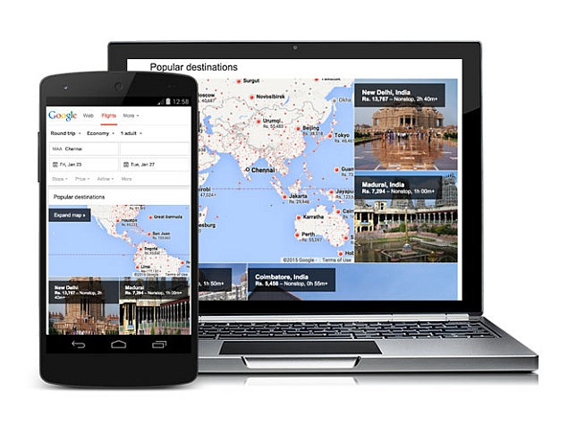 Google Flight Search Officially Launched in India