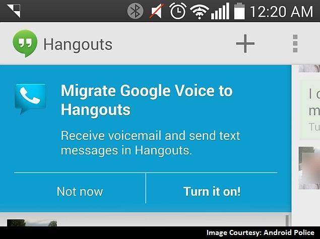 Google Hangouts Reportedly Receiving Google Voice