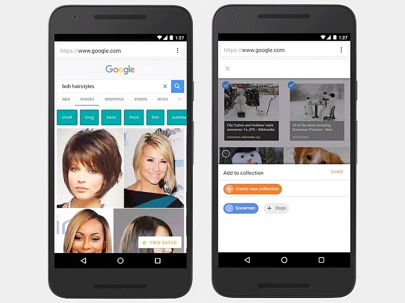Google Search Now Lets Users Easily Save and Sort Images on Mobile