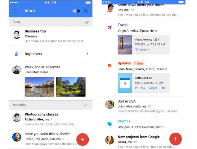 Google Unveils Inbox: Gmail Meets Google Now That's Email 2.0