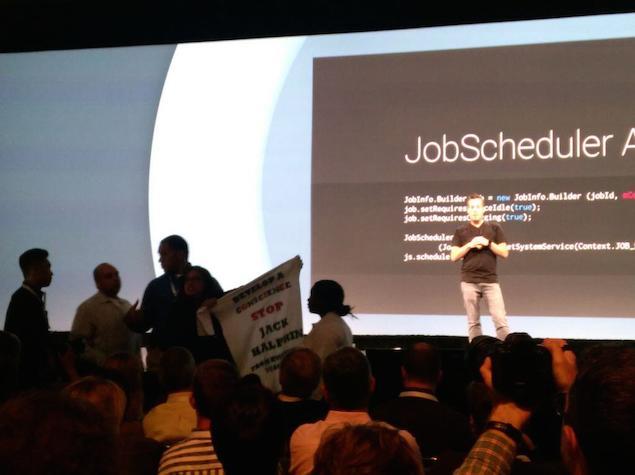 Google I/O Keynote Marred by Protests
