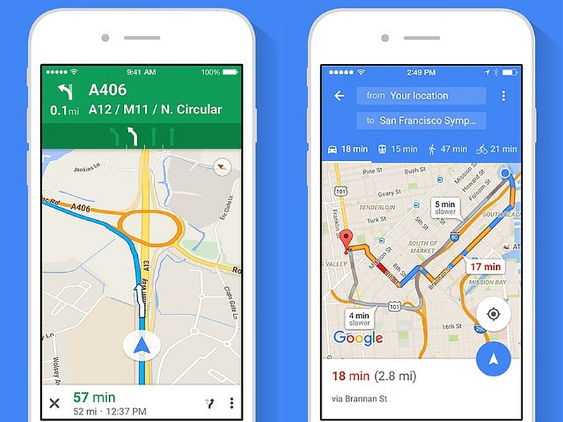 Google Maps 5.1, Now with Check in