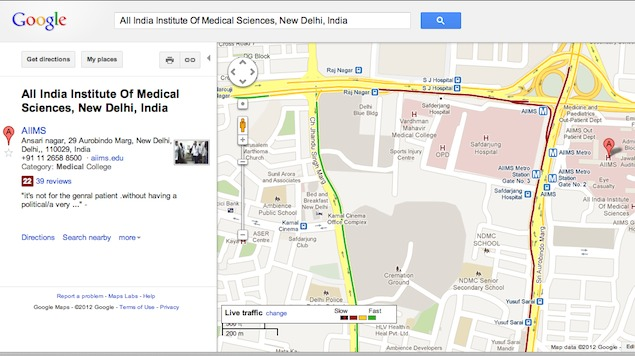 Google Maps Gets Live Traffic Updates Navigation In India
