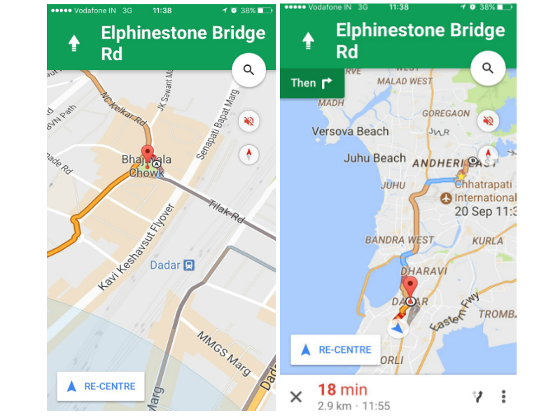 How Google Maps Gets Its Remarkably Accurate Real-Time ... on google maps russia, iphone map route, google points of interest, apple map route, world map route, google car route, united states map route, google plan route,