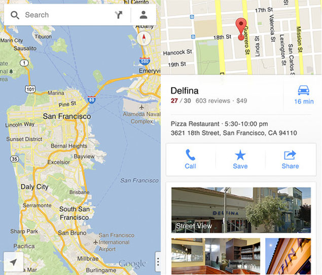Google release Maps app for iPhone; no native iPad version