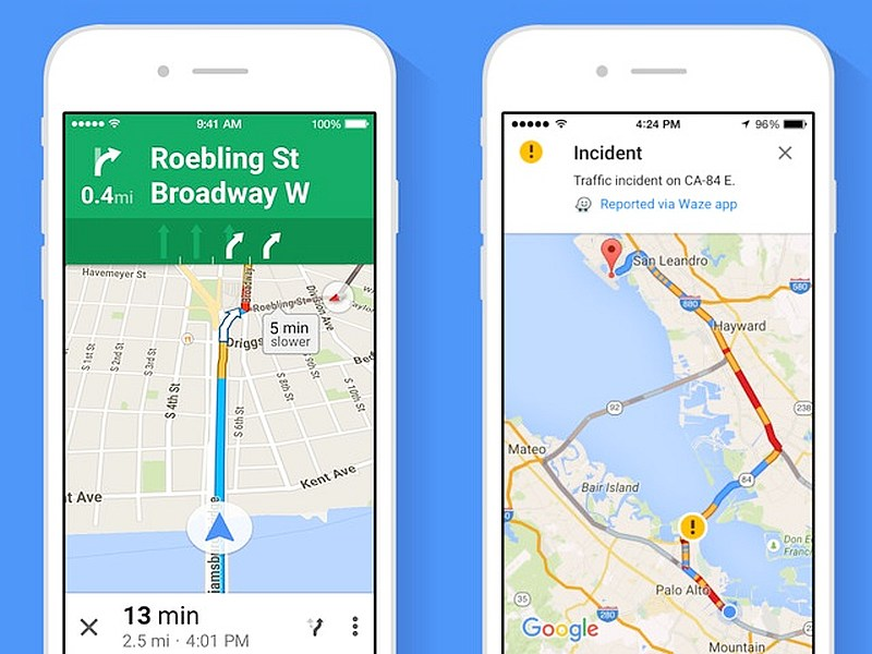 Google Maps for iOS Update Brings Spoken Traffic Alerts ... on google maps for iphone, android market app store, google navigation app, google maps a to b,