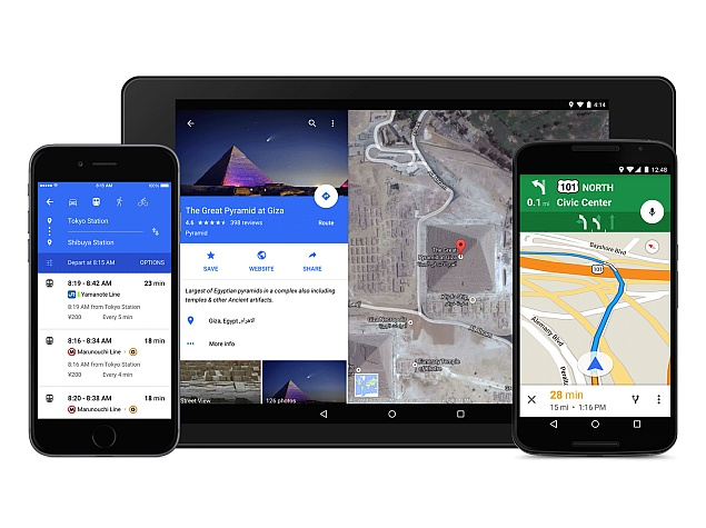 Google Maps for Android, iOS Gets Material Design Makeover, Improved Uber Integration