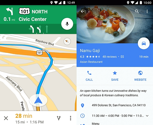 Google Maps to Get New Offline Search, Turn-by-Turn Navigation Features