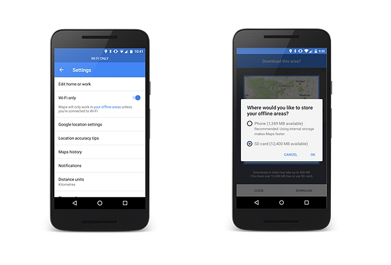 Google Maps for Android Users Can Now Save Offline Maps to SD Card on