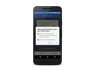 गूगल मैप्स के एंड्रॉयड ऐप को नए ऑफलाइन फ़ीचर मिले