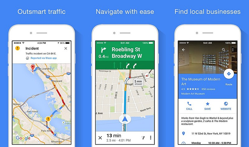 Google Maps for iOS Update Brings Apple Watch Support | Technology on ios store, windows 8 store, map search, google store, map google, map app talk, iphone store, map my walk app, map bing, map weather, map design, map pins app,