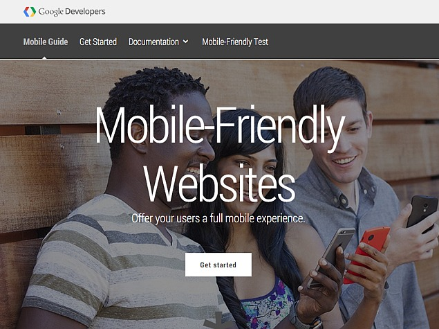 Google to Start Giving Mobile-Friendly Sites Higher Search Rankings