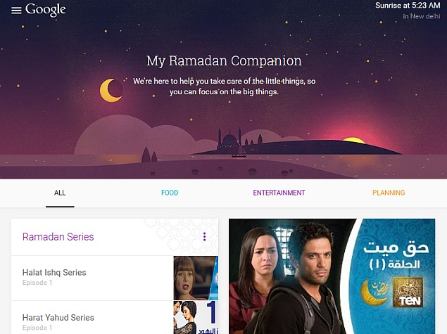 Google Launches My Ramadan Companion Website