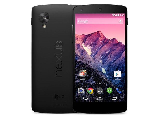 Google Nexus 5 with Android 4.4 KitKat launched, coming soon to India at Rs. 28,999