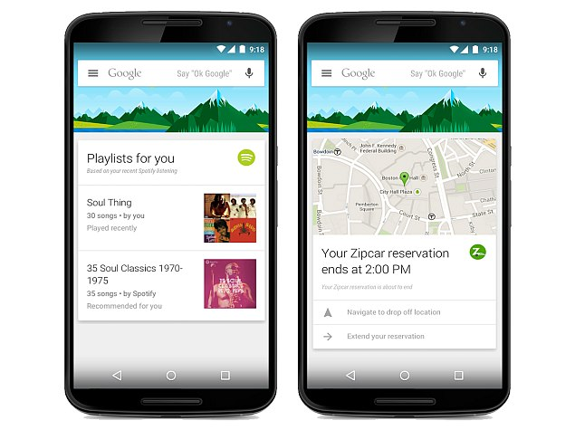Google Now Gets Support for 70 New Third-Party Apps