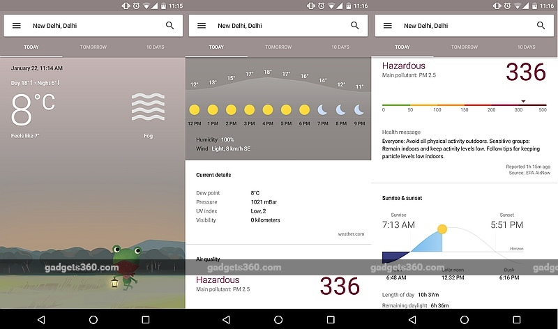 Google Rolls Out New, Detailed Weather Cards for Android