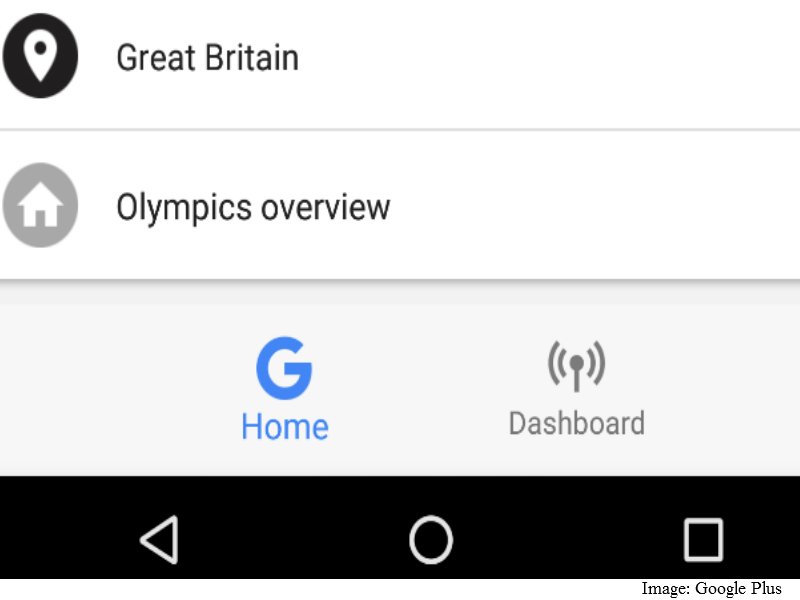 Google Tests 'Dashboard' Tab in Google Now to Highlight Content Across Services