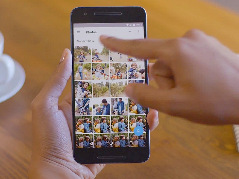 Google Photos Update Brings Shared Albums to Android, iOS, and Web