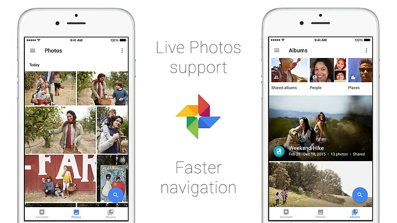 Google Photos for iOS Gets Support for Live Photos, Split View, and More