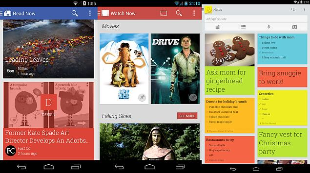 Google Keep, Play Newsstand and Play Movies & TV apps receive minor updates