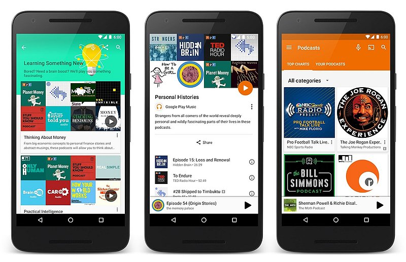 Google Play Music Finally Gets Podcasts