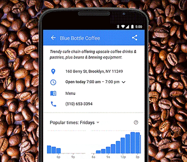 Google Now to Help Users Avoid Crowds at Public Places