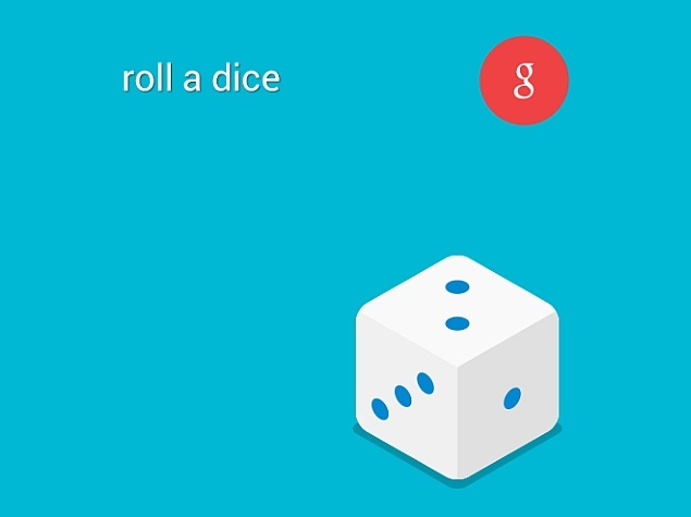 Google Search Can Now Be Asked to Roll a Die, Apart From Flip a Coin