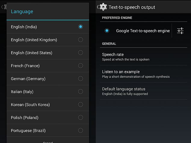 Google Text-to-Speech App Updated With English (Indian) Language