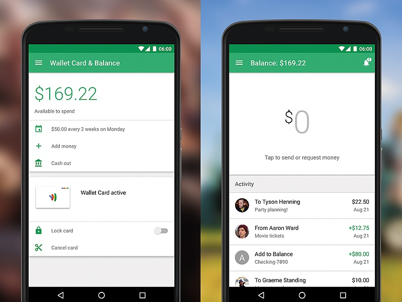 Google wallet app revamped ahead of android pay release Google play app
