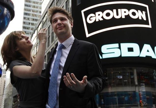 Groupon fires CEO, Mason admits