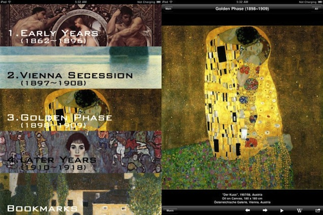 Gustav Klimt gets 21st-century makeover with iPads, apps