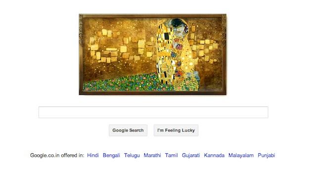 Gustav Klimt's 150th birth anniversary marked by Google doodle