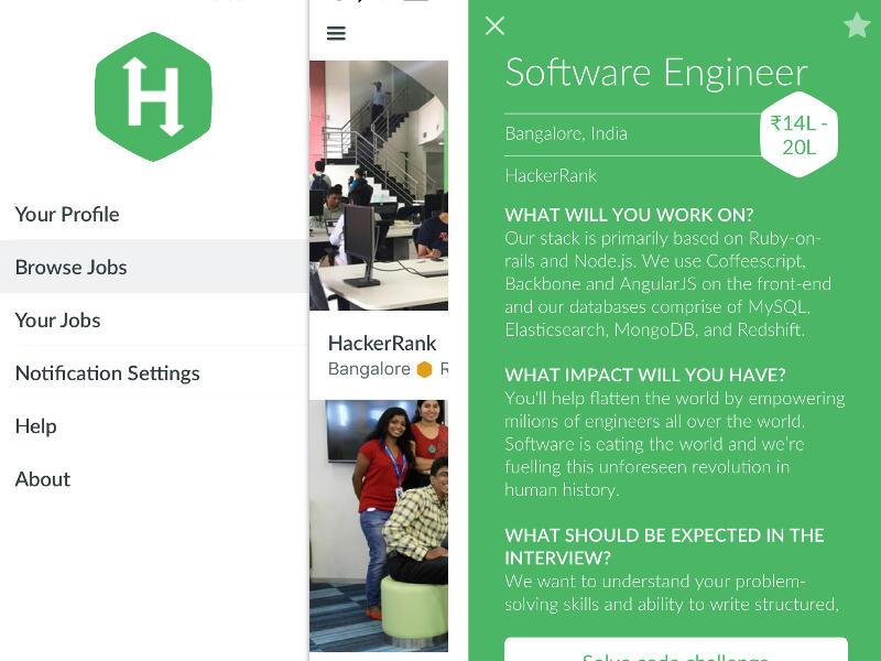 HackerRank Launches App-Based Recruitment Platform