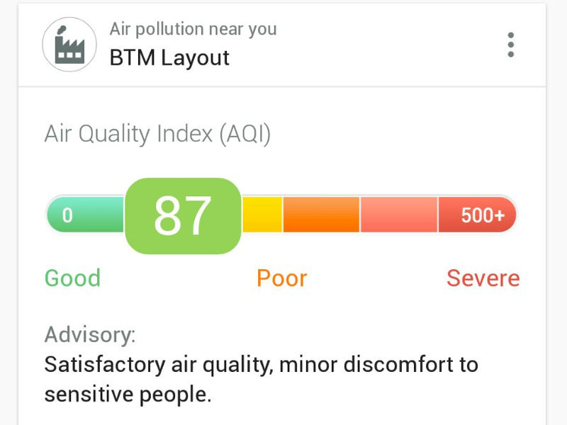 Helpchat App Now Provides Air Quality Updates in India