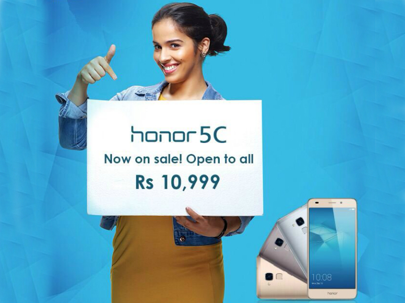 Honor 5C Now Available via Open Sale, Flipkart Offers Exchange Discounts