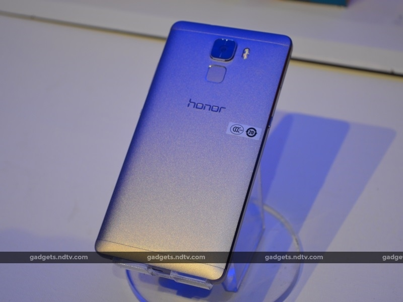 Honor 7 With 5.2-Inch Display, Fingerprint Sensor Launched at Rs. 22,999