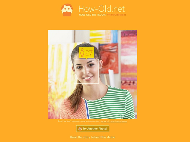 Microsoft's How Old Website Guesses Your Age From an Image