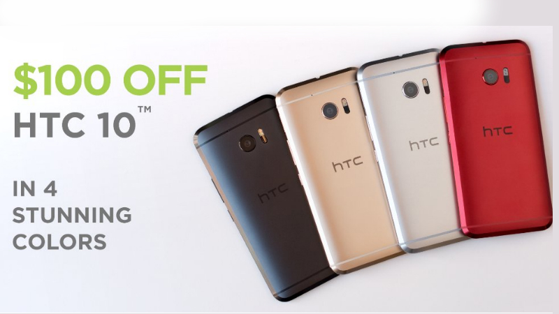 HTC 10 Gets 2 New Colour Variants and a Limited Period Discount