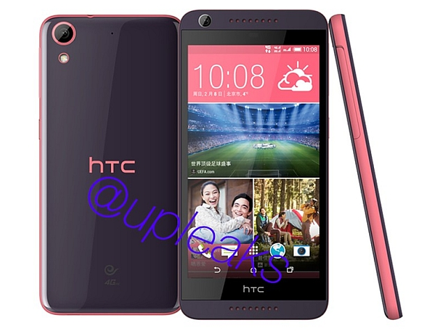 HTC Desire 626 Mid-Range Smartphone Images and Specifications Leaked