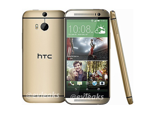 HTC One successor 'M8' aka 'All New One' leaked in Gold colour variant