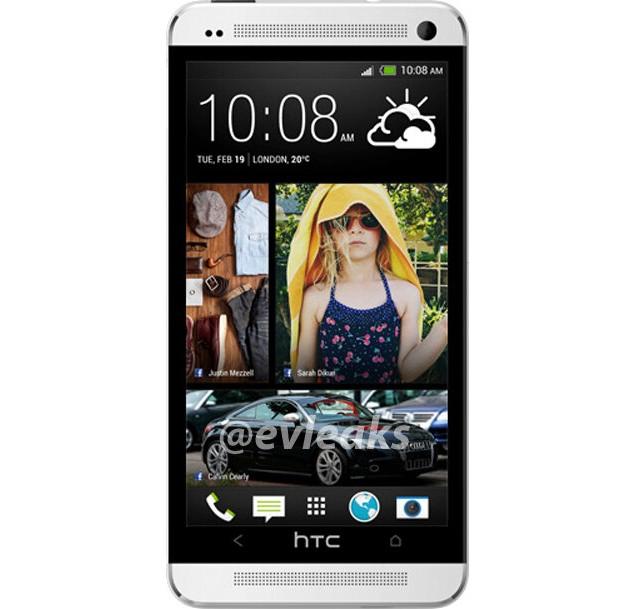 HTC One aka HTC M7 seen in fresh leaked picture; looks like a winner
