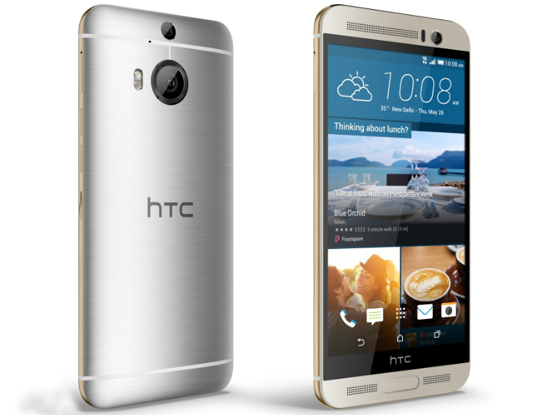 HTC One M9+ Prime Camera Edition Launched at Rs. 23,990