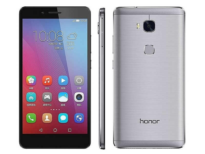 Honor 5X With Fingerprint Scanner, 3GB of RAM Launched