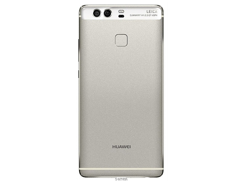 Huawei P9 Back Panel Image Leaked Ahead of Wednesday Launch