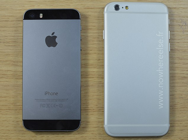 Alleged iPhone 6 Dummy Compared With iPhone 5s and iPod touch on Video